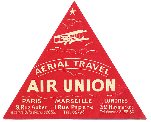 Air Vintage Travel Labels - VINTRALAB-031
