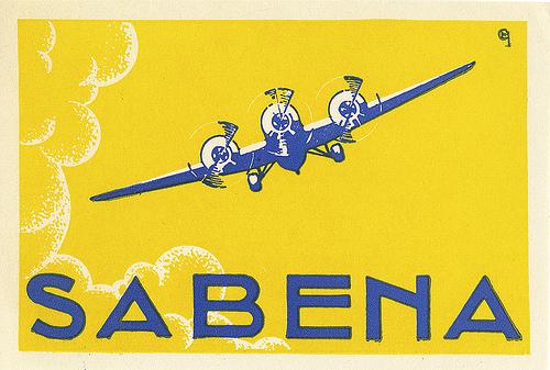Circa 1930 - Societé Anonyme Belge d'Exploitation de la Navigation Aérienne  (1923-2001)