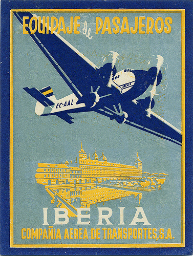 Air Vintage Travel Labels - VINTRALAB-071