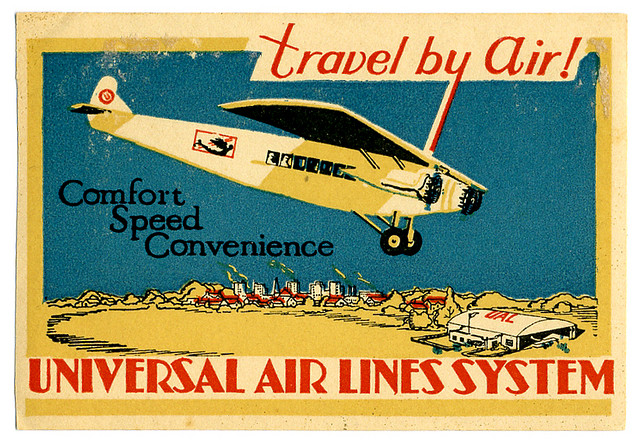 Air Vintage Travel Labels - VINTRALAB-092