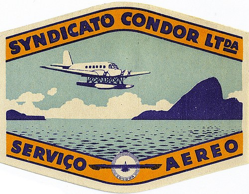 Air Vintage Travel Labels - VINTRALAB-102