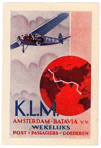 Air Vintage Travel Labels - VINTRALAB-104