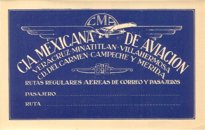 Air Vintage Travel Labels - ciamexicana