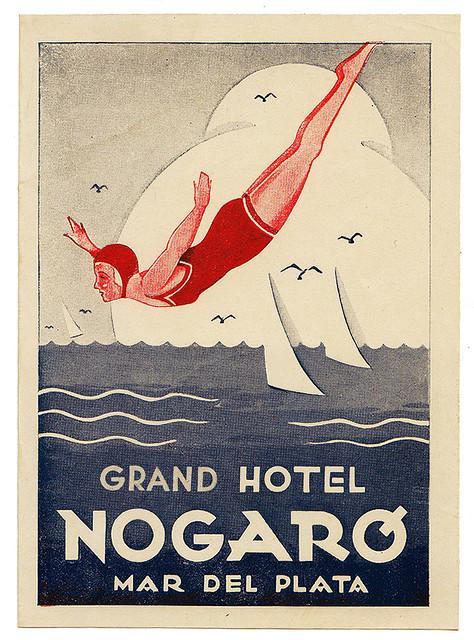 Argentina - MDQ - Mar del Plata - Grand Hotel Nogaro
