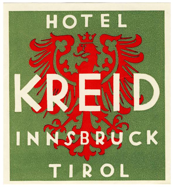 Austria - INN - Innsbruck - Hotel Kreid