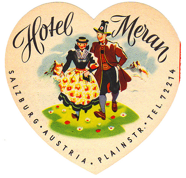 Austria - SZG - Salzburg -  Hotel Meran