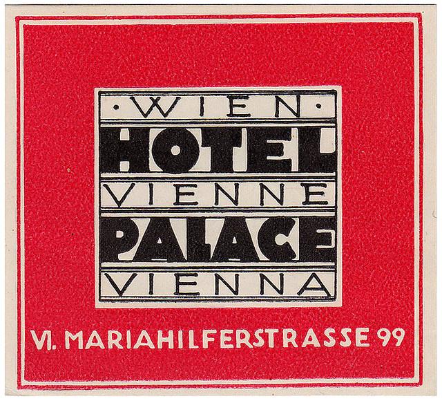 Austria - VIE - Vienna - Hotel Palace