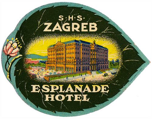 Croatia - ZAG - Zagreb - Esplanade Hotel