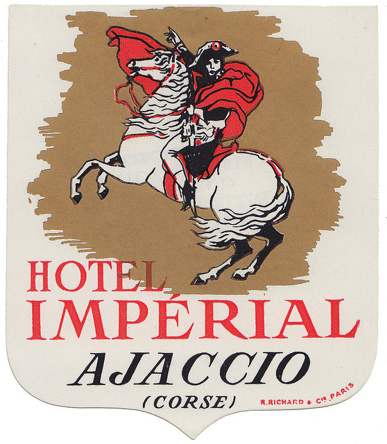 France - AJA - Ajaccio - Hotel Imperial grafica Richard