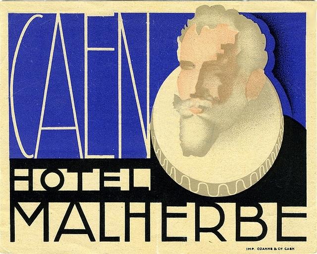 France - CFR - Caen - Hotel Malherbe
