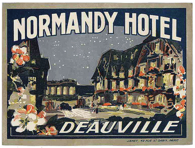 France - DOL - Deauville - Normandy Hotel