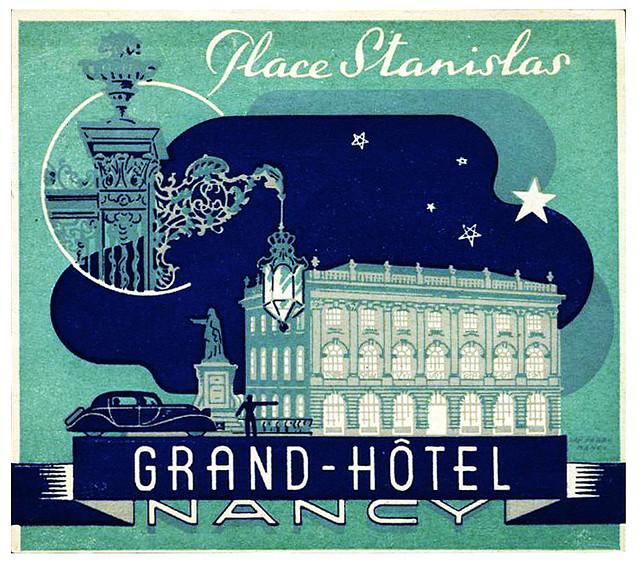 France - ETZ - Nancy - Grand Hotel du Nancy