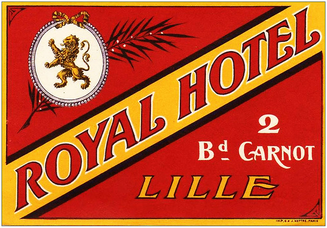 France - LIL - Lille - Hotel Royal