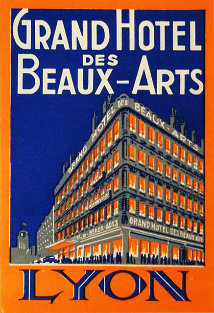France - LYS - Lyon - Grand Hotel des Beaux Arts