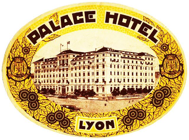 France - LYS - Lyon - Palace Hotel