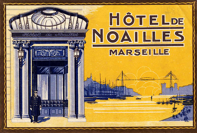 France - MRS - Marseille - Hotel de Noailles