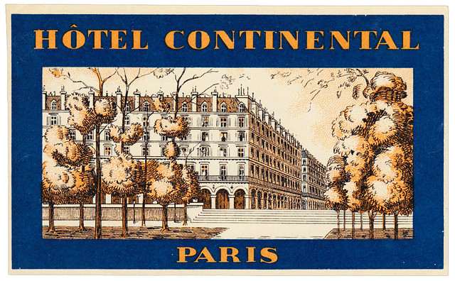 France - PAR - Paris - Hotel Continental