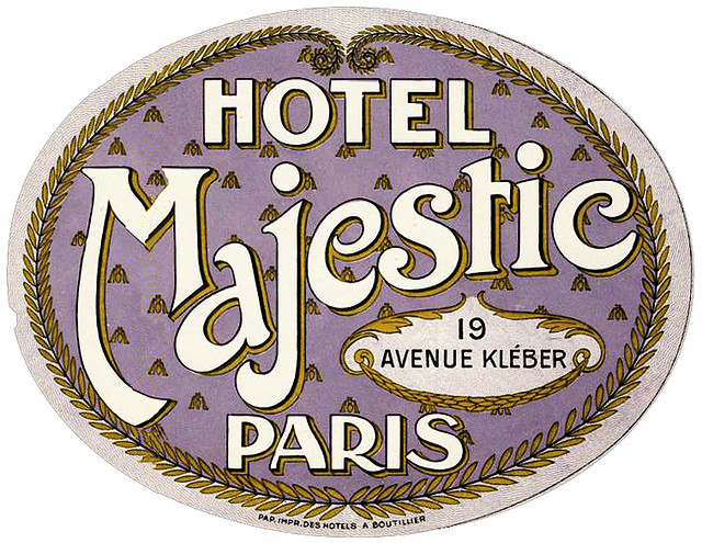 France - PAR - Paris - Hotel Majestic