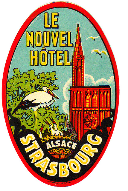 France - SXB - Strasbourg - Hotel Nouvel