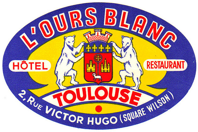 France - TLS - Toulouse - Hotel l'Ours Blanc