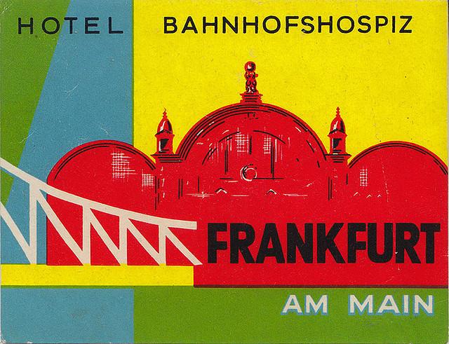 Germany - FRA - Frankfurt - Hotel Bahnhofs Hospiz