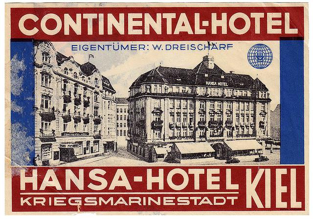 Germany - KEL - Kiel - Continental & Hansa Hotel