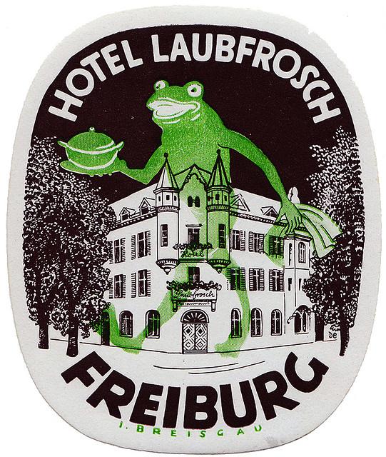 Germany - MLH -  Freiburg - Hotel Laubfrosch