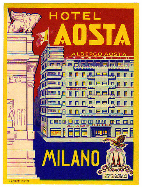 Italy - MIL - Milan - Hotel Aosta