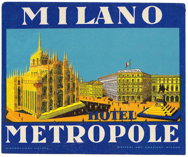 Italy - MIL - Milan - Hotel Metropole