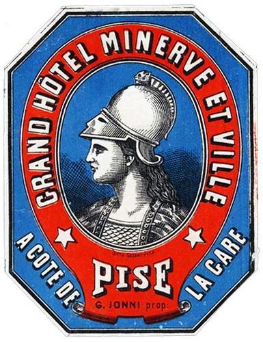 Italy - PSA - Pisa - Grand Hotel Minerve et Ville
