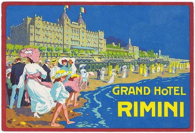 Italy - RMI - Rimini - Grand Hotel