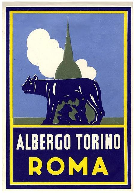 Italy - ROM - Rome - Albergo Torino