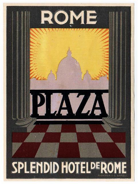 Italy - ROM - Rome - Hotel Plaza