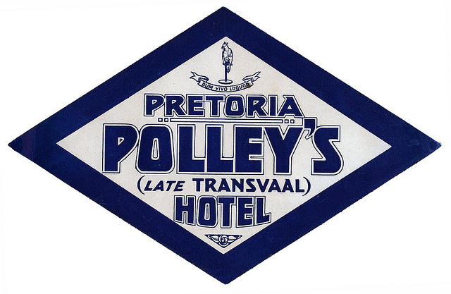 South Africa - JNB - Pretoria - Polley's Hotel