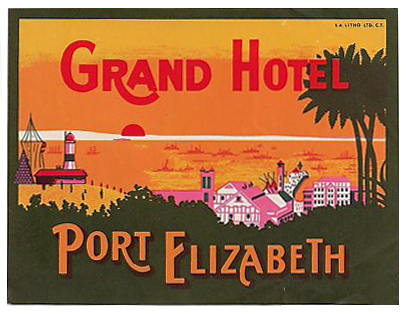 South Africa - PLZ - Port Elizabeth - Grand Hotel Port Elizabeth