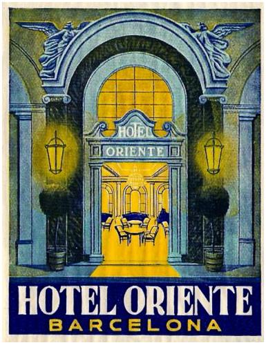 Spain - BCN - Barcelona Hotel Oriente