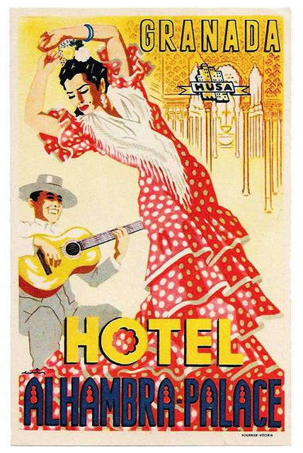 Spain - GRX - Granada Hotel Alhambra Palace