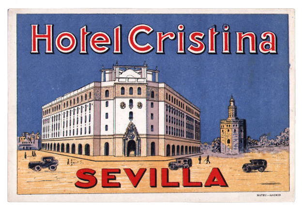 Spain - SVQ - Sevilla Hotel Cristina