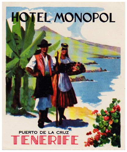 Spain - TCI - Tenerife - Hotel Monopol