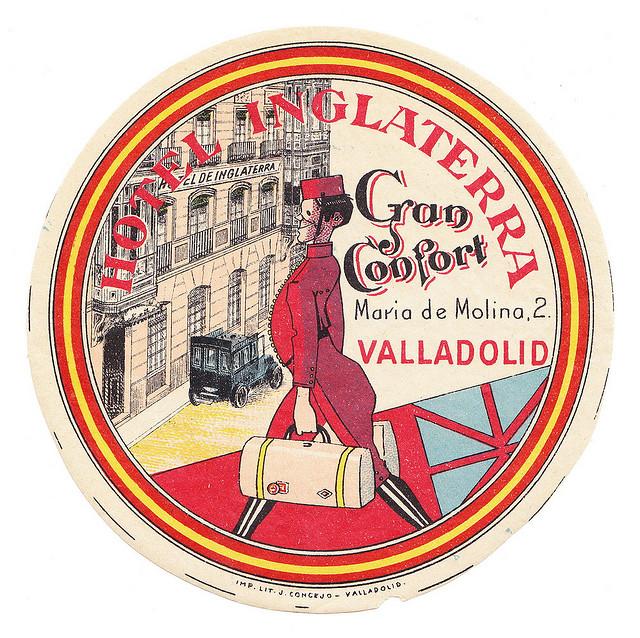 Spain - VLL - Valladolid - Hotel Inglaterra