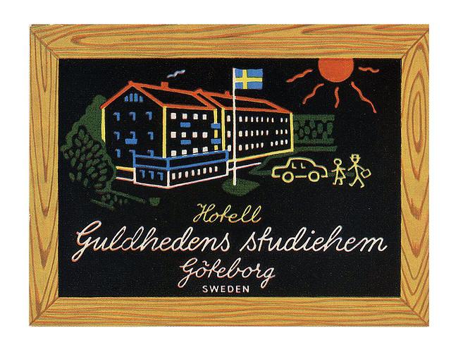 Sweden - GOT - Hotel Guldhedens Studiehem