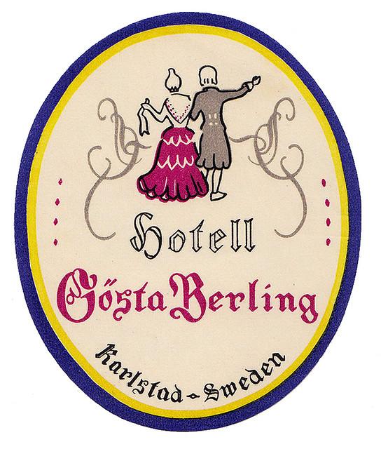 Sweden - KSD - Karlstad - Hotel Gosta Berling
