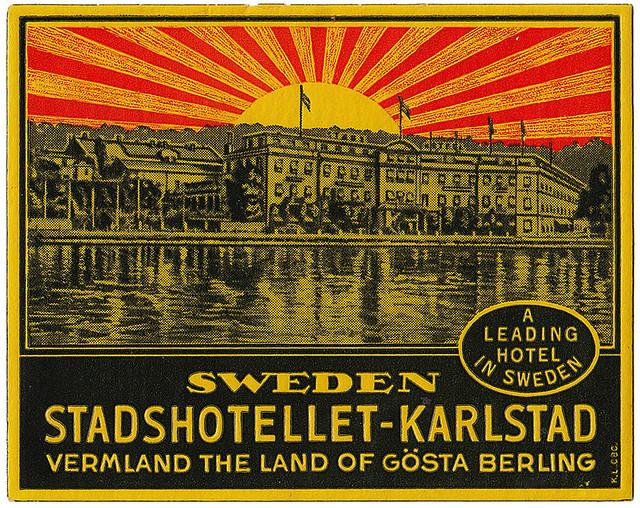 Sweden - KSD - Karlstad - Stads Hotellet