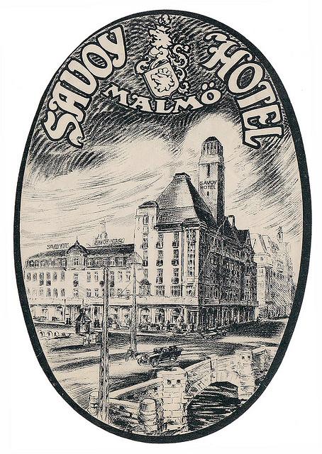 Sweden - MMA - Malmo - Hotel Savoy