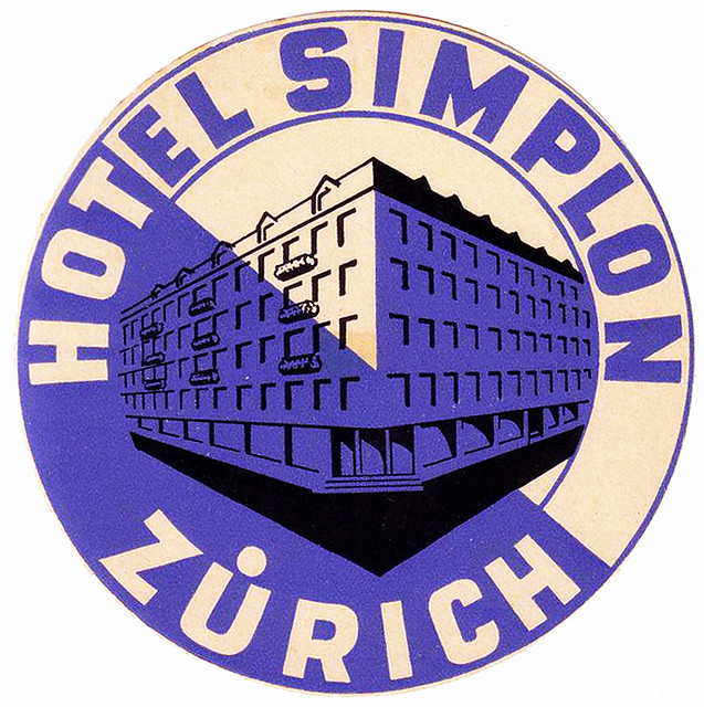 Switzerland - ZRH - Zurich - Hotel Simplon
