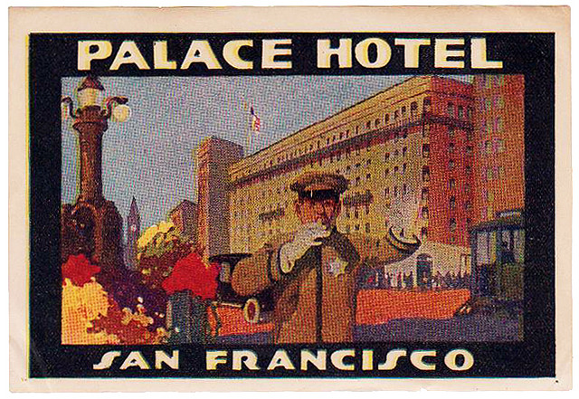 USA - SFO - San Francisco - Palace Hotel