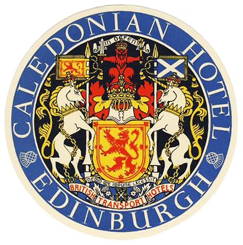 United Kingdom - EDI - Edinburgo - Caledonian Hotel