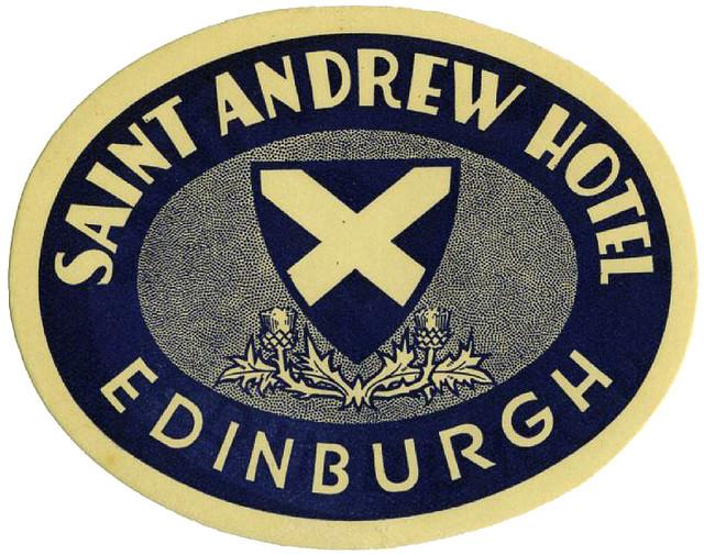 United Kingdom - EDI - Edinburgo - Saint Andrew Hotel