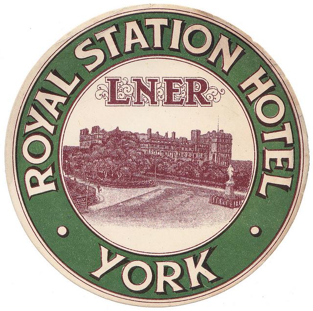 United Kingdom - LBA - York - Royal station Hotel