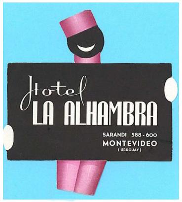 Uruguay - Montevideo - Hotel Alhambra